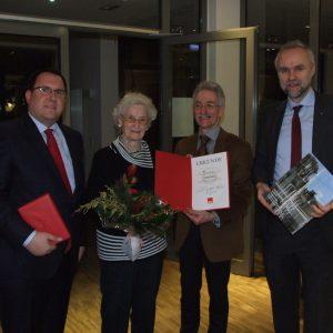 Jens Niklaus, Helga Glaß, Bernd Stracke, Manfred Krick (von links nach rechts)